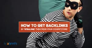 stealing links for seo