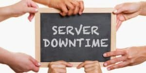 an image portraying website downtime due to server problems