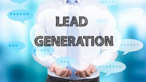 image portraying lead generation