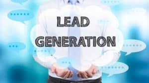 image portraying lead generation